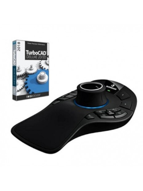 SPACEMOUSE PRO WIRELESS Caja + Producto