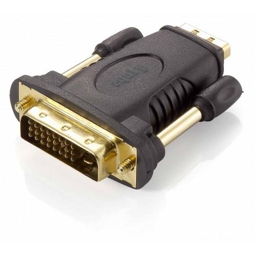 Equip 118908 adaptador de cable DVI (24+1) HDMI A Negro