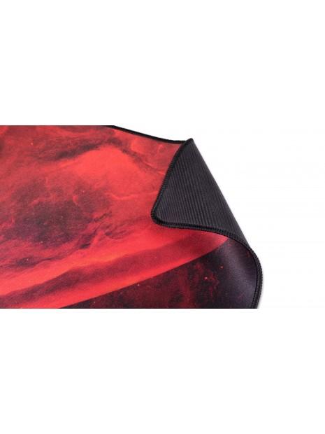 Mars Gaming MRMP0 alfombrilla para ratón Negro, Rojo Alfombrilla de ratón para juegos