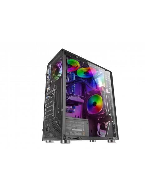 Mars Gaming MCL carcasa de ordenador Tower Negro