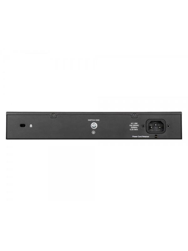 D-Link DGS-1100-24PV2 switch Gestionado Gigabit Ethernet (10 100 1000) Negro Energía sobre Ethernet (PoE)