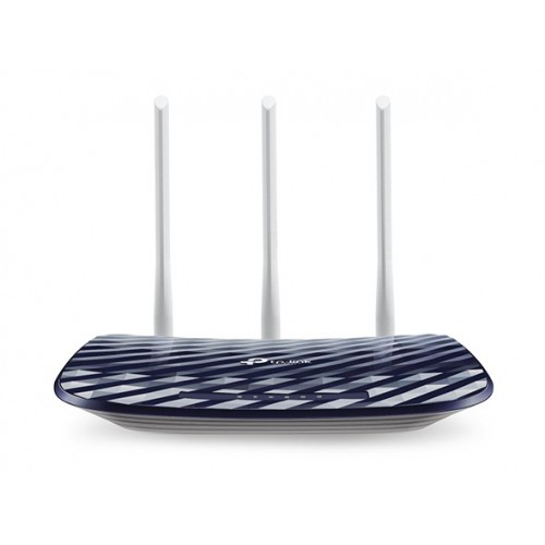 TP-LINK Archer C20 AC750 V4.0 router inalámbrico Doble banda (2,4 GHz   5 GHz) Ethernet rápido Marina