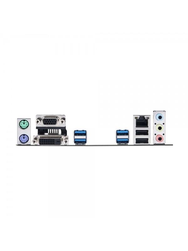 ASUS Prime B365M-K imagen de los puertos