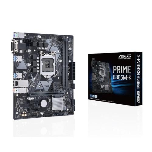 ASUS Prime B365M-K placa y caja