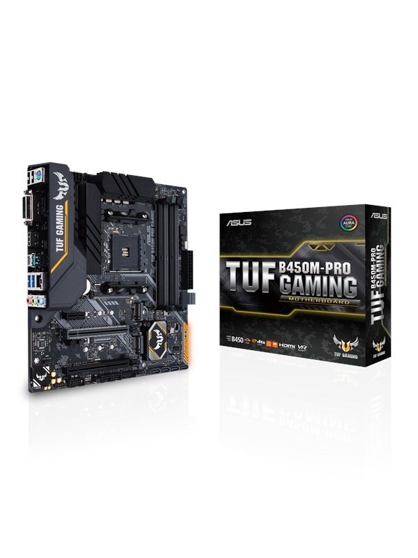 ASUS TUF B450M-PRO GAMING Zócalo AM4 micro ATX AMD B450