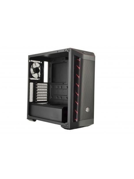 Cooler Master MasterBox MB511 Midi Tower Negro, Rojo