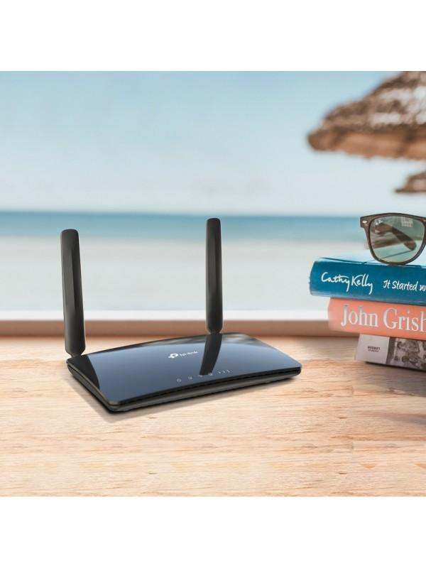 TP-LINK Archer MR400 router inalámbrico Doble banda (2,4 GHz   5 GHz) Ethernet rápido 3G 4G Negro