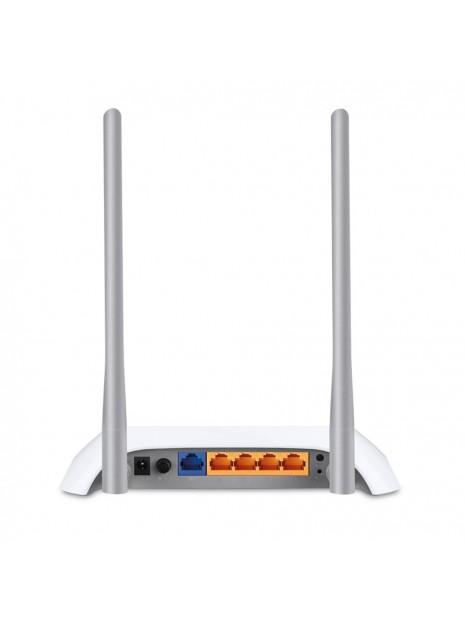 TP-LINK TL-MR3420 router inalámbrico Ethernet rápido Negro, Blanco