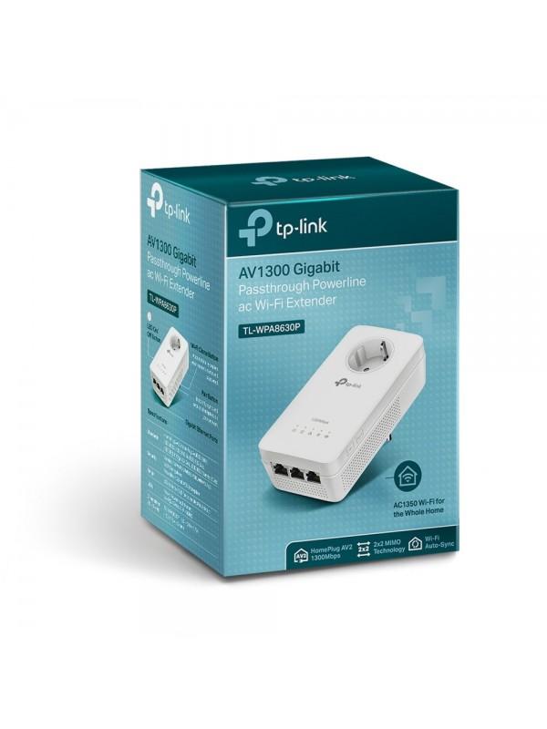 TP-LINK TL-WPA8630P adaptador de red powerline 1300 Mbit s Ethernet Wifi Blanco 1 pieza(s)