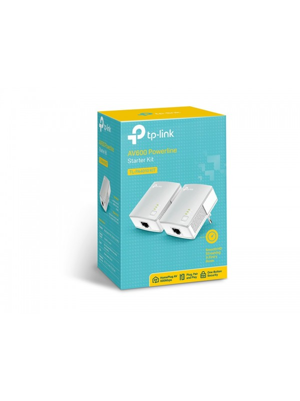 TP-LINK TL-PA4010KIT 600 Mbit s Ethernet Blanco 2 pieza(s)