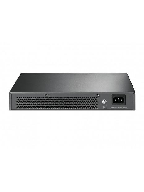 TP-LINK TL-SG1016D switch Gestionado L2 Gigabit Ethernet (10 100 1000) Negro