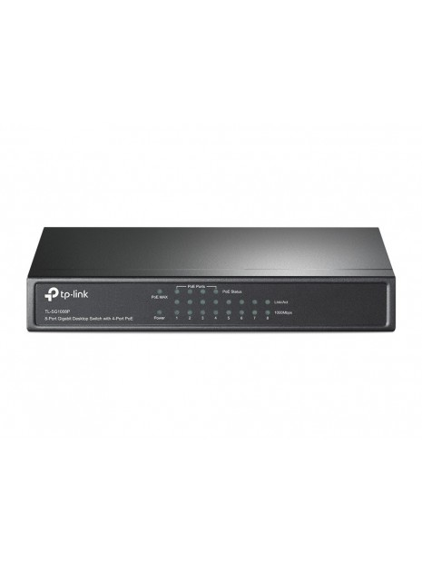 TP-LINK TL-SG1008P switch Gigabit Ethernet (10 100 1000) Avellana Energía sobre Ethernet (PoE)