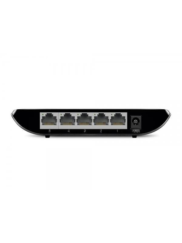 TP-LINK TL-SG1005D No administrado Gigabit Ethernet (10 100 1000) Negro