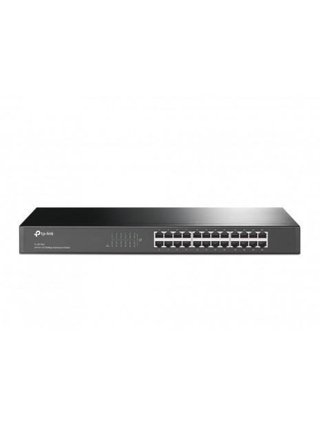 TP-LINK TL-SF1024 switch No administrado Fast Ethernet (10 100) Negro