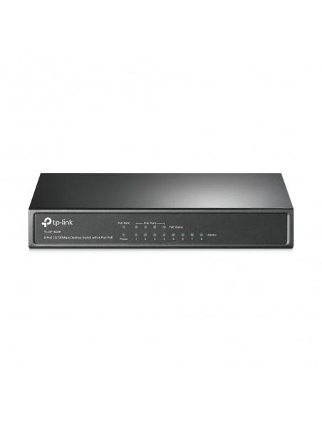 TP-LINK TL-SF1008P switch No administrado Fast Ethernet (10 100) Oliva Energía sobre Ethernet (PoE)