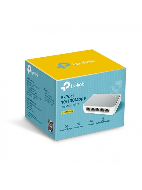 TP-LINK TL-SF1005D switch No administrado Fast Ethernet (10 100)