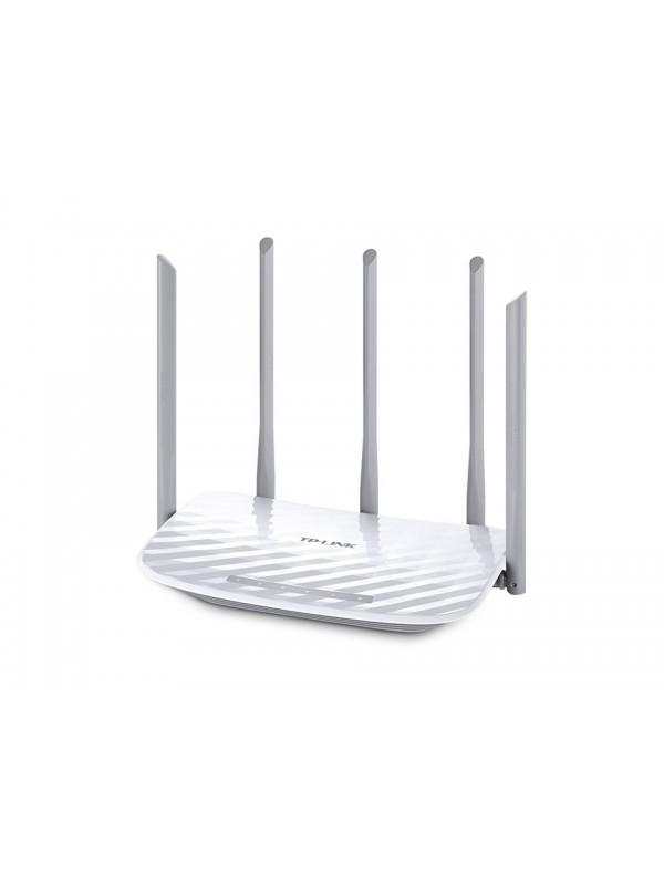 TP-LINK Archer C60 router inalámbrico Doble banda (2,4 GHz   5 GHz) Ethernet rápido Blanco