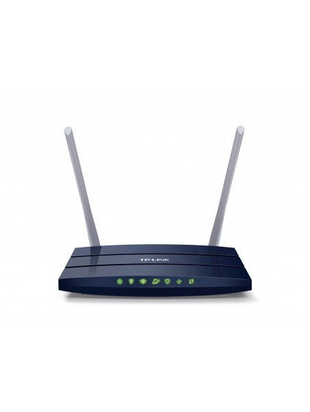 TP-LINK Archer C50 V1 router inalámbrico Doble banda (2,4 GHz   5 GHz) Ethernet rápido Negro