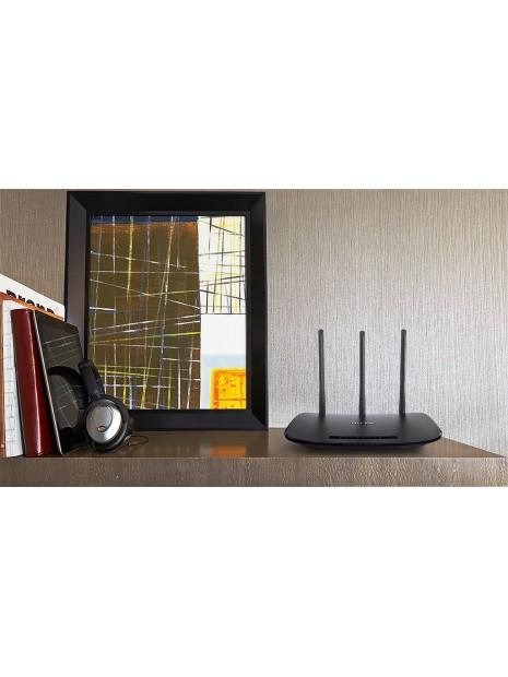 TP-LINK TL-WR940N router inalámbrico Banda única (2,4 GHz) Ethernet rápido Negro