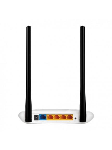 TP-LINK TL-WR841N router inalámbrico Banda única (2,4 GHz) Ethernet rápido Negro, Blanco