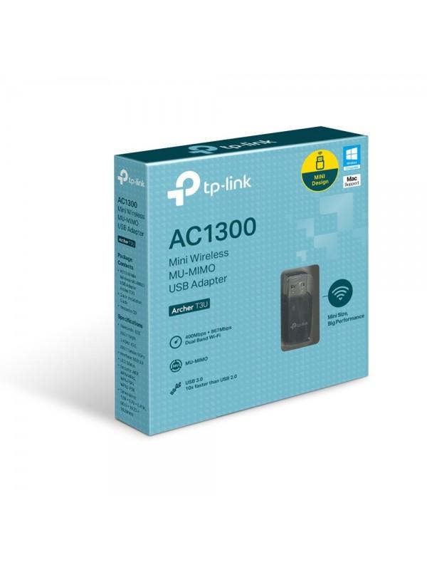 TP-LINK AC1300 Mini Wireless MU-MIMO USB Adapter WLAN 1267 Mbit s