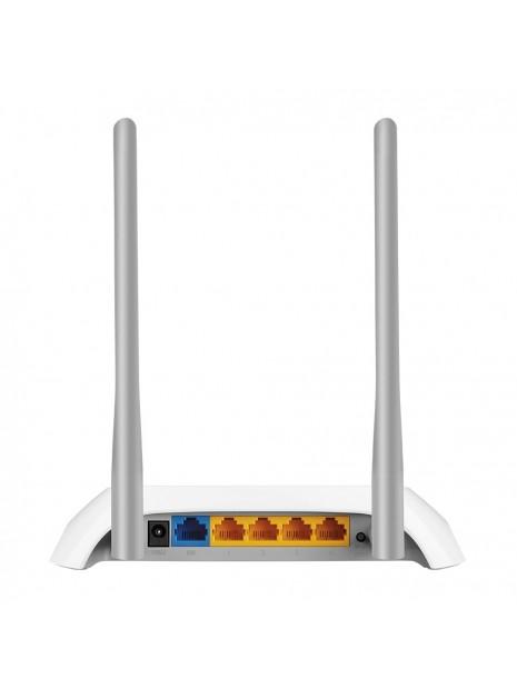 TP-LINK TL-WR850N router inalámbrico Banda única (2,4 GHz) Ethernet rápido Gris, Blanco