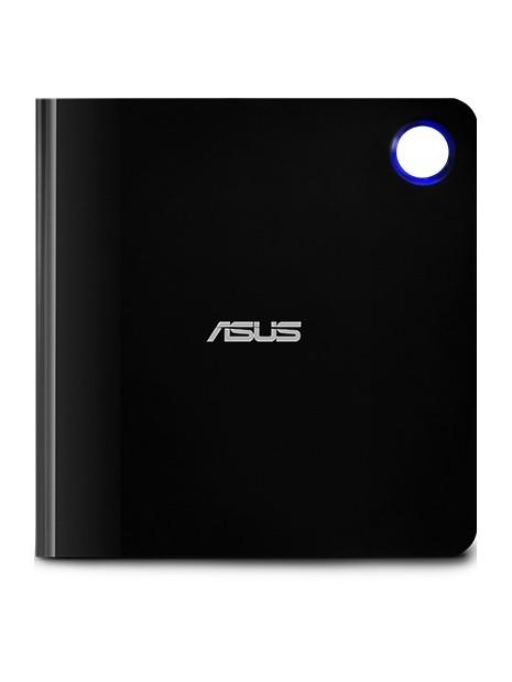 ASUS SBW-06D5H-U unidad de disco óptico Negro, Plata Blu-Ray RW