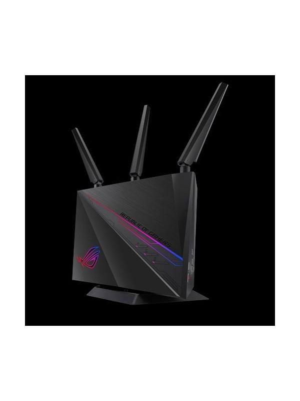 ASUS GT-AC2900 router inalámbrico Doble banda (2,4 GHz   5 GHz) Gigabit Ethernet Negro