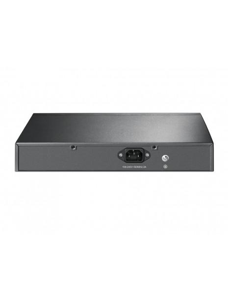 TP-LINK TL-SG1008MP switch No administrado Gigabit Ethernet (10 100 1000) Negro Energía sobre Ethernet (PoE)
