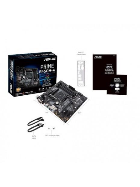 ASUS PRIME B450M-A CSM Zócalo AM4 micro ATX AMD B450