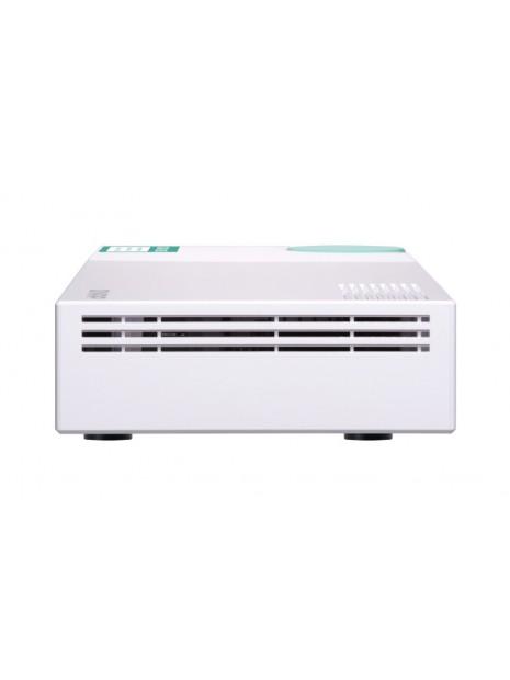 QNAP QSW-308S switch No administrado Gigabit Ethernet (10 100 1000) Blanco