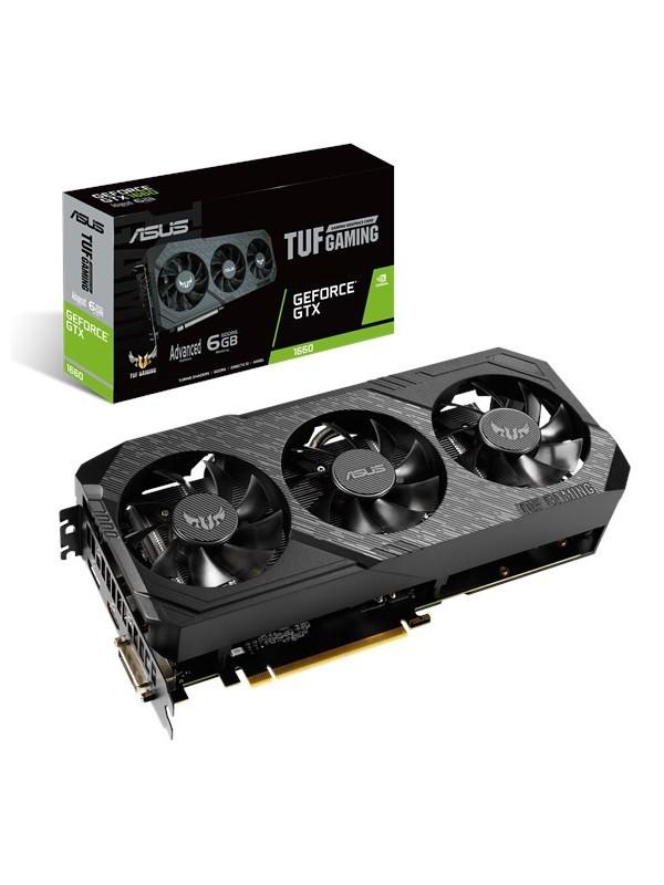 ASUS TUF Gaming TUF3-GTX1660-A6G-GAMING NVIDIA GeForce GTX 1660 6 GB GDDR5