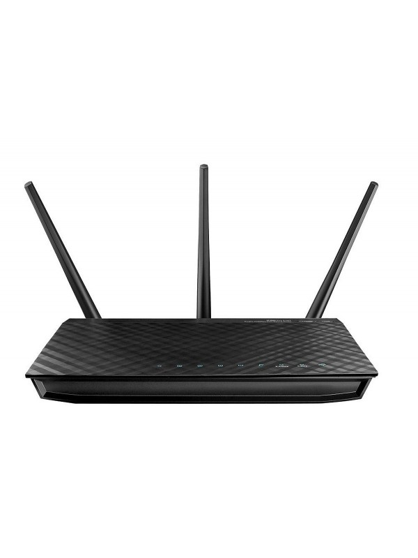 ASUS RT-AC66U router inalámbrico Doble banda (2,4 GHz   5 GHz) Gigabit Ethernet Negro