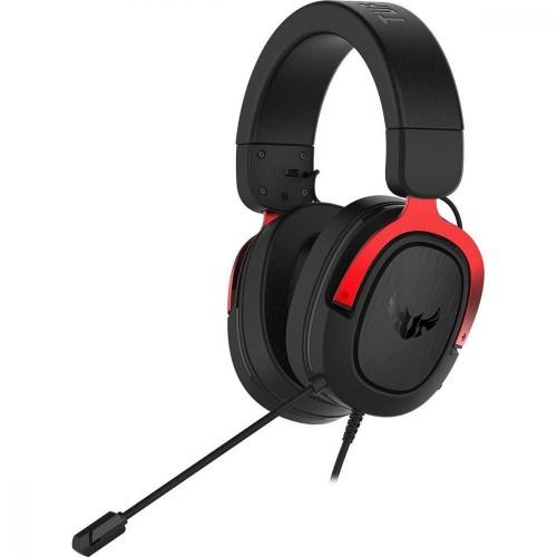 ASUS TUF Gaming H3 Auriculares Diadema Negro, Rojo