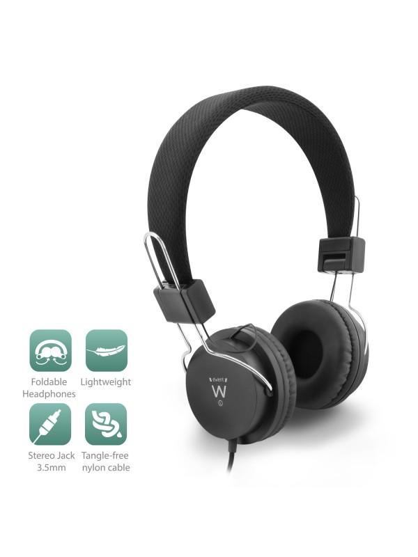 Ewent EW3573 auricular y casco Auriculares Diadema Negro