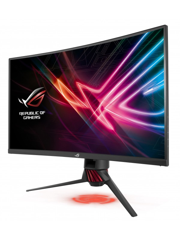 """ASUS ROG Strix XG32VQR 80 cm (31.5"""") 2560 x 1440 Pixeles Wide Quad HD LED Negro, Gris"""