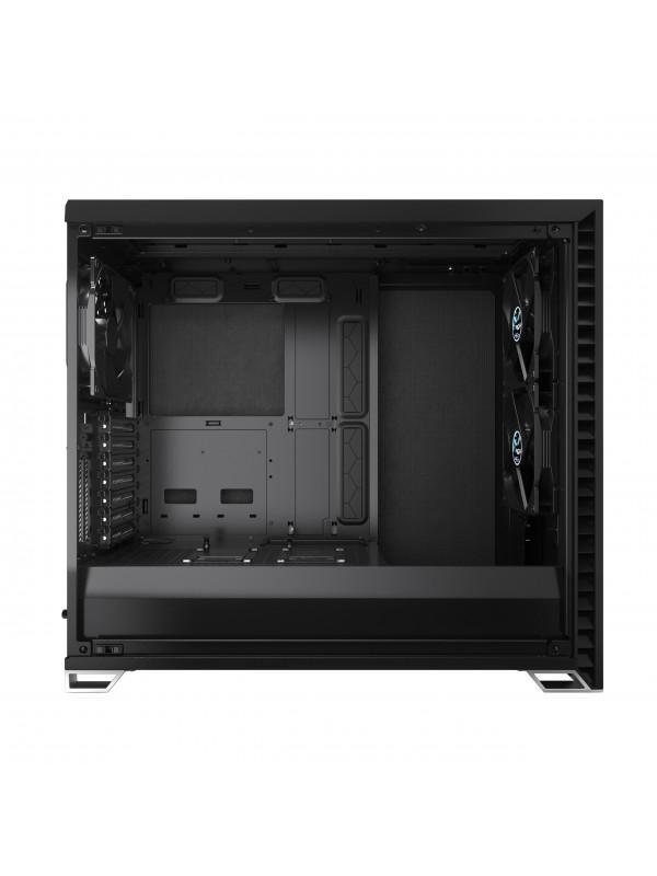 Fractal Design Vector RS Tempered Glass Tower Negro, Transparente