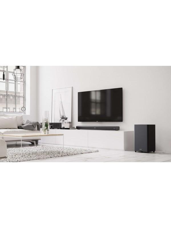 Sharp HT-SBW460 altavoz soundbar 3.1 canales 440 W Metálico
