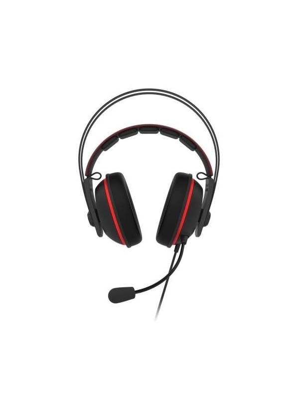 ASUS TUF Gaming H7 Auriculares Diadema Negro, Rojo