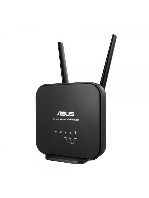 ASUS 4G-N12 B1 router inalámbrico Banda única (2,4 GHz) Ethernet rápido Negro