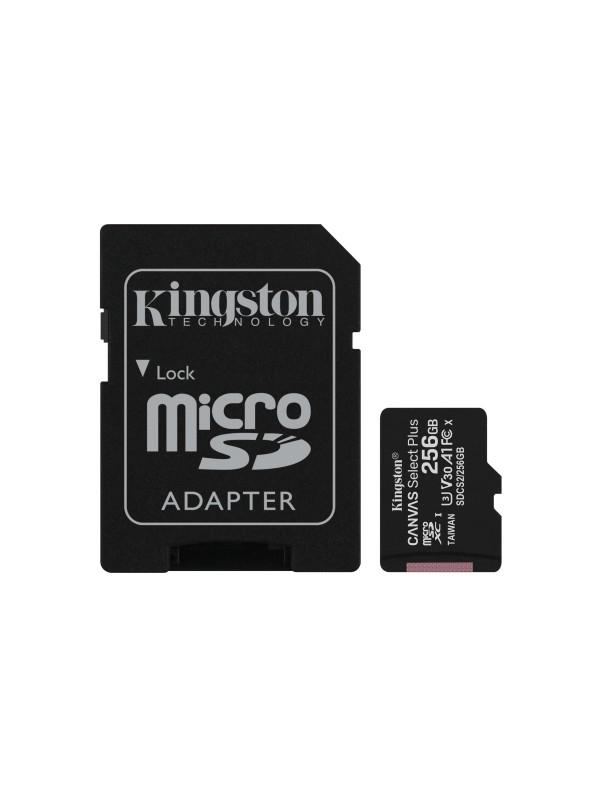 Kingston Technology Canvas Select Plus memoria flash 256 GB MicroSDXC Clase 10 UHS-I