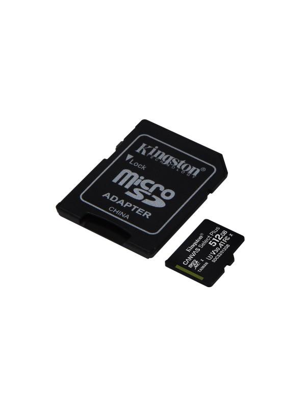 Kingston Technology Canvas Select Plus memoria flash 512 GB SDXC Clase 10 UHS-I