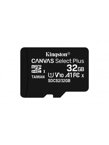 Kingston Technology Canvas Select Plus memoria flash 32 GB MicroSDHC Clase 10 UHS-I