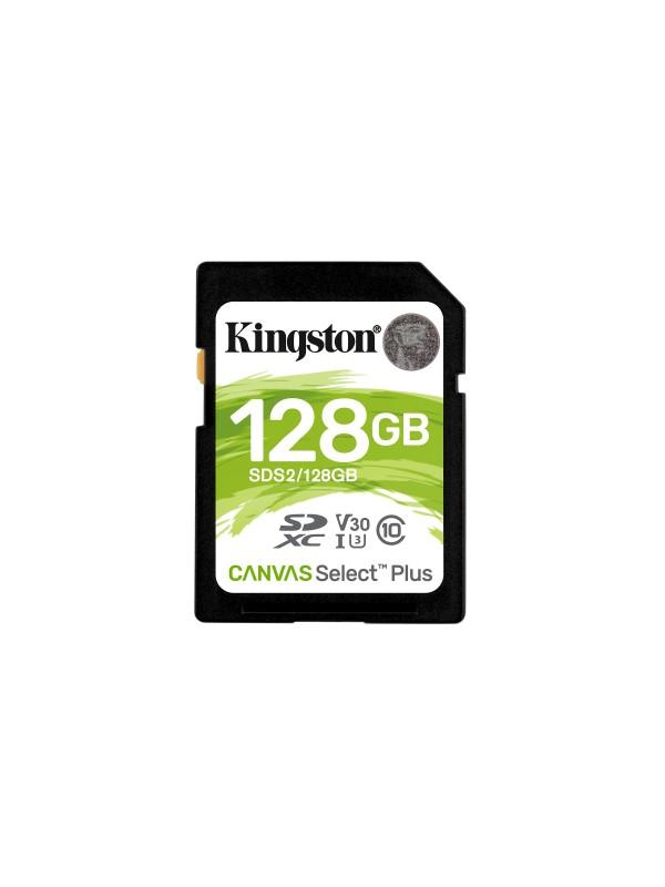 Kingston Technology Canvas Select Plus memoria flash 128 GB SDXC Clase 10 UHS-I