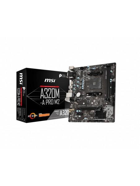 MSI A320M-A PRO M2 Zócalo AM4 micro ATX AMD A320