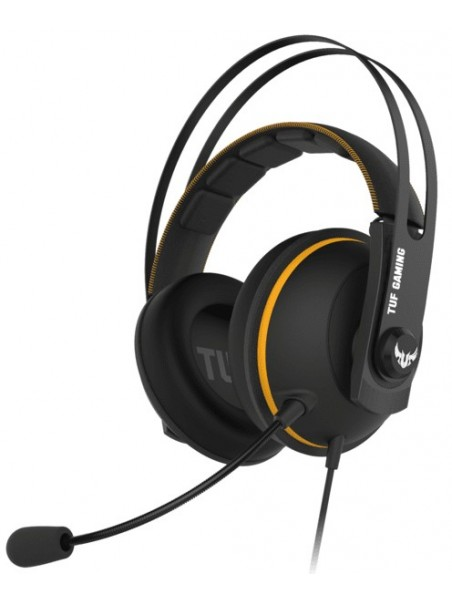 ASUS TUF Gaming H7 Auriculares Diadema Negro, Amarillo