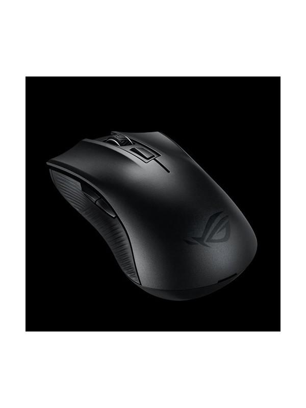 ASUS ROG Strix Carry ratón RF inalámbrica + Bluetooth Óptico 7200 DPI mano derecha