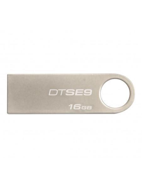 Kingston Technology DataTraveler SE9 unidad flash USB 16 GB USB tipo A 2.0 Plata