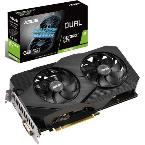 ASUS Dual -GTX1660S-A6G-EVO NVIDIA GeForce GTX 1660 SUPER 6 GB GDDR6