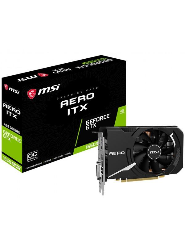 MSI GeForce GTX 1650 SUPER AERO ITX OC NVIDIA 4 GB GDDR6